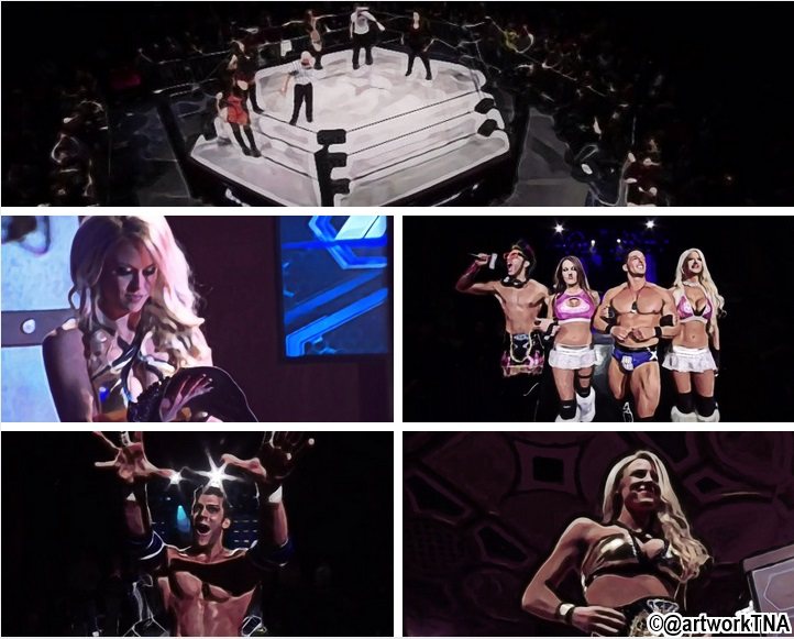Knockouts Championship Battle Royal Taryn Terrell C Vs Gail